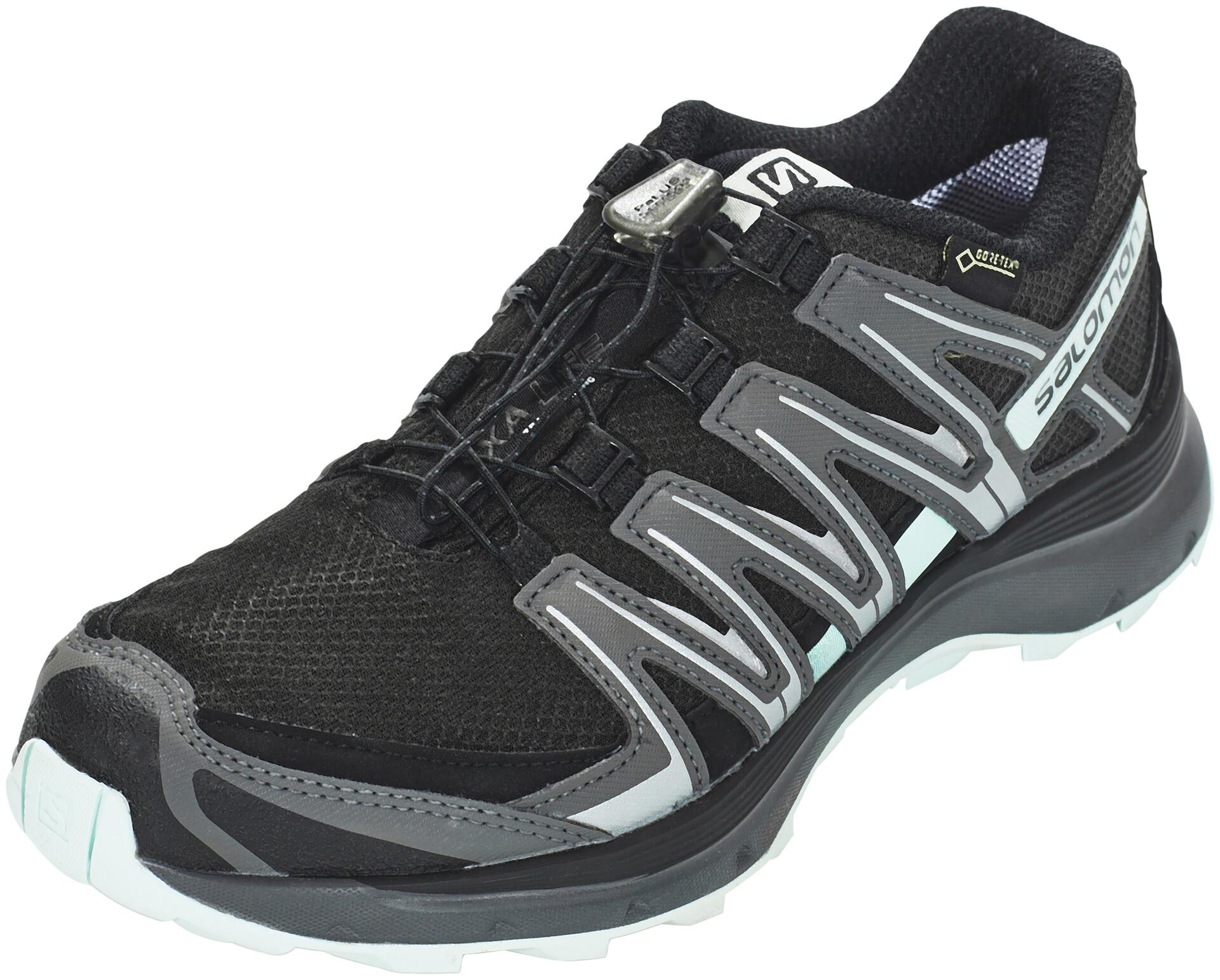 Salomon XA Lite GTX Trailrunning Shoes Dame blackmagnetfair aqua